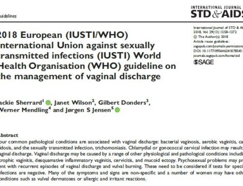 2018 European (IUSTI/WHO) International Union against sexually transmitted infections